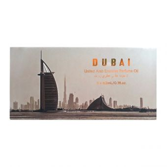 Set 5 tinh dầu nước hoa DUBAI dạng lăn - 5 x 3ml sang trọng