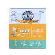 Giảm cân x5 Diet Pro Extra Genie Hàn Quốc, hộp 30 viên