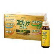 Tảo vàng EX dạng nước - Tảo EX Spirulina Nhật Bản 10 x 50ml