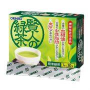Trà xanh giảm mỡ máu Orihiro Sage hộp 30 gói của Nhật
