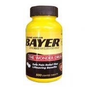 Viên giảm đau Bayer Aspirin The Wonder Drug 325mg 500 viên