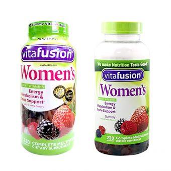 Kẹo dẻo Vitamin cho phụ nữ Vitafusion Women's Multivitamin