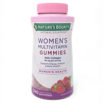 Kẹo dẻo vitamin Nature's Bounty Women's  Multivitamin 240 viên