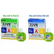 Nước nhỏ mắt Lion 40 EX Mild Nhật có 2 màu, chai 15ml