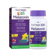 Viên ngậm ngủ ngon cho bé Natrol Kids Melatonin của Mỹ