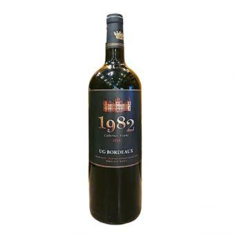 Rượu vang  Pháp 1982 Cabernet Franc 2018, chai 750ml
