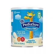 Sữa Pediasure Grow & Gain hương Vanilla hộp 400g cho bé