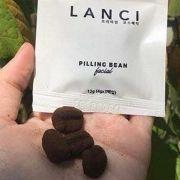 Tẩy tế bào chết Lanci Pilling Bean từ cà phê hộp 12 viên