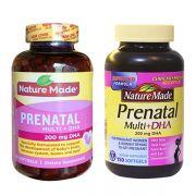 Viên bổ sung vitamin + DHA Prenatal Nature Made 150 viên