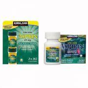 Viên uống giảm đau Kirkland Low Dose Aspirin 81mg mẫu mới