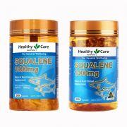Dầu gan cá mập Healthy Care Squalene 1000mg chính hãng Úc