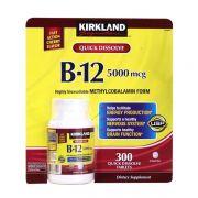 Viên bổ sung Kirkland Vitamin B12 5000mcg 300 viên