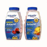 Viên ngậm hỗ trợ dạ dày Equate Antacid 1000mg vị trái cây