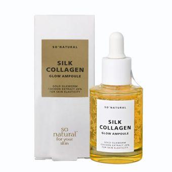 Tinh chất serum dưỡng da Silk Collagen Glow Ampoule Hàn Quốc