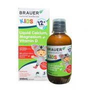 Siro Brauer Kids Liquid Calcium Magnesium Vitamin D 12mth