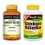 Viên uống bổ não Ginkgo Biloba 500mg Mason Natural