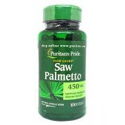 Viên uống Saw Palmetto 450mg Puritan's Pride 100 viên giá tố...