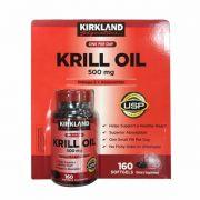 Dầu nhuyễn thể Krill Oil Kirkland 500mg 160 viên của Mỹ