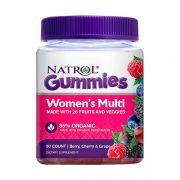Kẹo dẻo vitamin cho phụ nữ Natrol Women's Multi 90 viên Mỹ