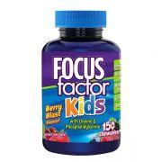 Kẹo hỗ trợ trí não cho bé Focus Factor Kids của Mỹ