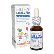 Siro cảm cúm Cold & Flu NatraBio 30ml cho trẻ trên 4 tháng