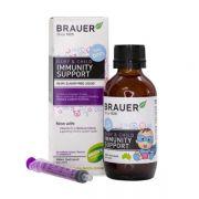 Siro tăng đề kháng Brauer Immunity Support phòng ngừa cảm cúm