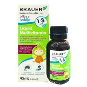 Siro vitamin tổng hợp Brauer Liquid Multivitamin 1-3 (45ml)