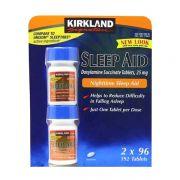 Viên uống hỗ trợ giấc ngủ Kirkland Sleep Aid 2 hộp x 96 viên