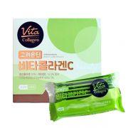 Bột uống Vita Collagen táo xanh 1000mg Hàn Quốc hộp 60 gói