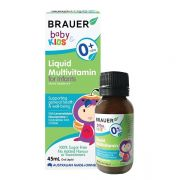 Siro Brauer Baby Kids Liquid Multivitamin cho trẻ sơ sinh