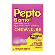 Thuốc chuyên trị đau dạ dày Pepto Bismol Chewables 30 viên