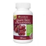 Viên chống oxy hóa Trunature Grape Seed Resveratrol của Mỹ