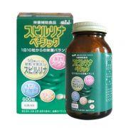 Viên tảo xanh Spirulina 300 viên của Nhật Bản - Hàng cao cấp