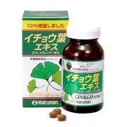 Viên uống bổ não Ginkgo Biloba Maruman Nhật Bản 100 viên