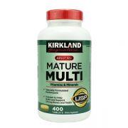 Vitamin tổng hợp Kirkland Mature Multi Adult 50+ 400 viên