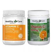 Viên bổ sung Vitamin C Healthy Care 500mg của Úc chính hãng
