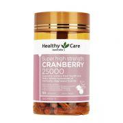 Viên uống Healthy Care Cranberry 25000mg của Úc hộp 90 viên