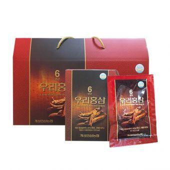 Nước hồng sâm 6 Years Woori Korean Red Ginseng Hàn Quốc