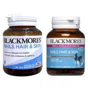 Blackmores Nails, Hair And Skin 60 viên của Úc mẫu mới