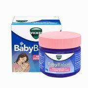 Dầu bôi Vicks Baby Balsam giữ ấm, giảm ho cho bé của Đức 50g