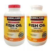 Dầu Cá Kirkland Fish Oil Omega 3 - Bổ Mắt, Tốt Tim Mạch 400 ...