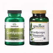 Đông trùng hạ thảo Swanson Cordyceps Sinensis 120 Viên