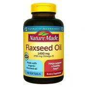 Omega 3 6 9 Flaxseed Oil 1400mg Nature Made Của Mỹ - Hộp 300 Viên