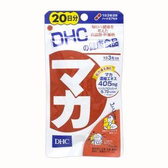 Viên uống Maca DHC tăng cường chức năng sinh lý 20 ngày