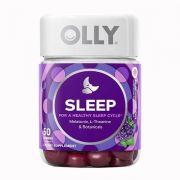 Kẹo dẻo ngủ ngon Olly Sleep 50 Gummies Blackberry Zen