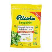 Kẹo thảo mộc Ricola Lemon Mint Sugar Free 105 viên
