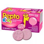 Viên nhai hỗ trợ tiêu hóa cho bé Pepto Kids Chewable 24 viên