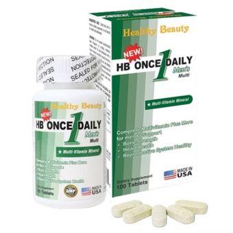 Vitamin tổng hợp cho nam HB Once Daily Men's của Mỹ