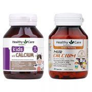 Calcium Milk Healthy Care - Viên sữa canxi cho trẻ trên 4 tháng