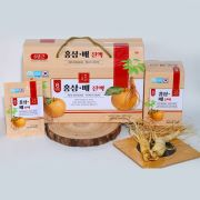 Nước hồng sâm lê Red Ginseng Pear Liquid Hàn Quốc 30 gói